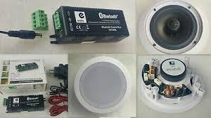 bluetooth einbau verstärker 2 decken lautsprecher smarthome