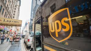 100 Ups Truck Hours UPS Driver Freed After Entangled In Electric Wires NBC