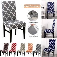 US $3.87 33% OFF Dining Chairs Covers Stretch Plaid Slipcovers Chair Cases  Spandex Chair Covers For Bedroom Elastic Kitchen Seat Case 1/2/4/6PCS On ... Blancho Bedding 2 Piece Sets Of Elastic Chair Slipcovers Stretch Sofa Covers Cover Couch For 1 3 Seater Slipover Top Quality New Winter 1234 Thickened Sofa Cover Case Living Room Details About Easy Fit Lounge Protector 124x High Back Ding Knit Compare Idyllic Plant Print 4 Rowe Easton Casual And A Half With Slipcover Belfort Parson Life Is Party Best Sale 6847 1246pcs White Loviver 124pcs Removable 1246pcs Spandex Chairs Detachable Solid Color For Banquet Hotel Kitchen Wedding