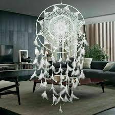 dreamcatcher traumfänger indianer ø 40cm groß schlafzimmer