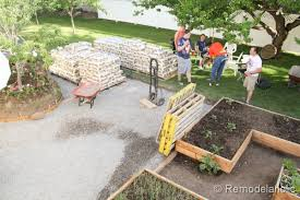how to lay a garden patio remodelaholic diy concrete patio part one