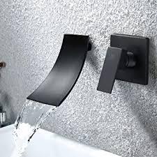 haoxin unterputz waschtischarmatur schwarz wandarmatur bad