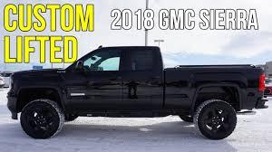 CUSTOM LIFTED 2018 GMC SIERRA'S (2.5
