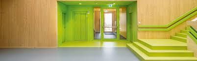 Nora Rubber Flooring Dubai by Day Care Center Völklingen Architecturex