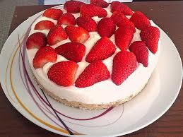weiße schokolade erdbeer kuchen