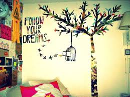 Bedroom Wall Ideas Tumblr With Designs