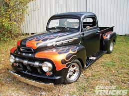 100 Cool Paint Jobs On Trucks Paint Job 1952 Ford F1 Flame Job Photo 1 Awesome Auto