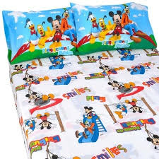 mickey mouse clubhouse twin bedding mickey mouse club house road