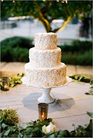 Rustic Gold Wedding Cake Country Swanky Weddings