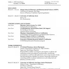 ResumeRetail Pharmacist Resume Sample Make Templates Format Pharmacy Examples Doc Manager Exampl Free Download