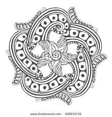 Mandala For Coloring Book Pages Vector Ornament Pattern Tattoo Design