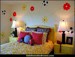 Soccer Themed Bedroom Photography by Decorating Theme Bedrooms Maries Manor Girls Sports Themed