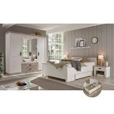 lomadox schlafzimmer set ferna 61 spar set 5 tlg schlafzimmer komplett im landhausstil in pinie weiß nb mit absetzungen in pinie dunkel nb