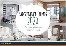 badezimmer trends 2020 badshop skybad