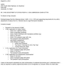 Employment Verification Letter I 485