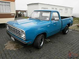 100 1972 Dodge Truck D100 Pick Up Short Bed Fleetside