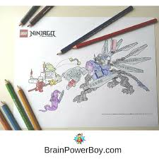 New LEGO Coloring Pages Now Available Click To Get These Free Printable Ninjago