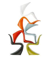 chaise en polypropylène panton chair by vitra design verner panton