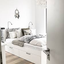 ikea brimnes bett bettkasten stauraum schlafzimmer bedroom
