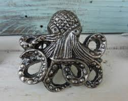 Nautical Drawer Pulls Canada by Octopus Drawer Knobs Etsy