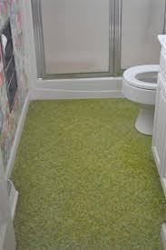 putting down linoleum flooring in a bathroom bathroom floors
