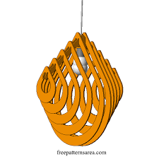 Laser Cut Lamp Dxf by Drop Chandelier Light Free Dxf File For Laser Cutting Laser