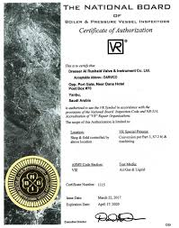 Dresser Masoneilan Pressure Regulator by Darvico Quality Company Certification
