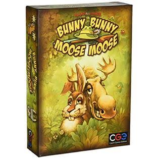 Czech Games Edition Bunny Bunny Moose Moose Board Game