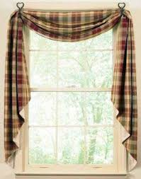 Country Kitchen Curtains This Style But With Added Cafe Curtain And In Colour To Go The Scheme