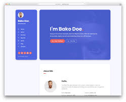 31 Best HTML5 Resume Templates For Personal Portfolios 2019 ...