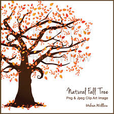 Beautiful Tree Clipart Autumn Tree Scrapbook Trees Vector Tree Clipart Autumn Clipart Flame Tree Wedding invite Natural Looking Tree