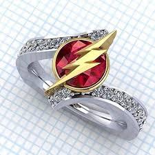 Amazon Flash Tag Flashy Ring Lightning Bolt Ring For Women