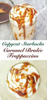 Starbucks Unicorn Lemonade Recipe Inspirational Caramel Brulee Frappuccino Drinks Pinterest