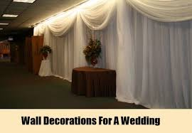 Wedding Wall Decoration Ideas 20 Romantic Wedding Ideas With Candles