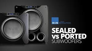 Sonance Ceiling Speakers Australia by Svs Sb 2000 Subwoofer Sealed Box Home Subwoofer