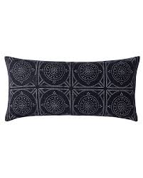 Camille Mosaic Lumbar Pillow Cover Serena & Lily