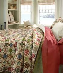 Blooming Circles Quilt from LL Bean I love how vintage this looks