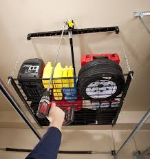 Ceiling Bike Rack Diy by Racor Phl 1r Pro Heavylift 4 By 4 Foot Cable Lifted Storage Rack
