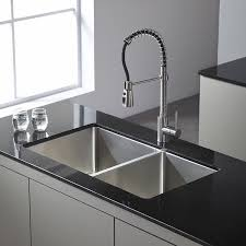 Lowes Canada Kitchen Faucets by Kraus Kpf 1612 Single Lever Pull Down Kitchen Faucet Chrome