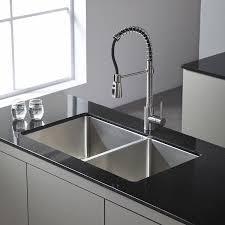 Menards Kitchen Sink Stopper by Kraus Kpf 1612 Single Lever Pull Down Kitchen Faucet Chrome