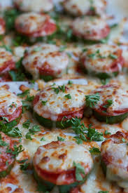 Zucchini Pizza Bites A Fantastic Low Carb Option To Whip