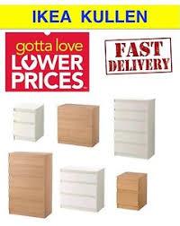 Ikea Kullen 5 Drawer Dresser by Ikea Kullen Chest Of Drawers Bedroom Furniture In White U0026 Oak 2 3