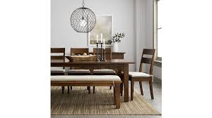 basque natural bench cushions crate and barrel