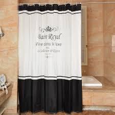 hohe qualität royal sitzwanne polyester wasserdicht bad duschvorhang amerika stil bad vorhang mit haken