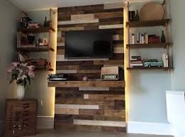 DIY Cinder Block Entertainment Center