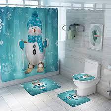 xinqinding weihnachten toilettensitzbezug weihnachts wc