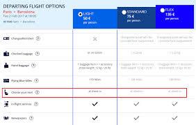 reserver siege air nouveau air libère le choix des sièges sur ses vols