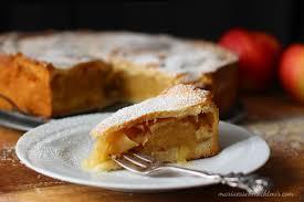 omas gedeckter apfelkuchen mit mürbeteig
