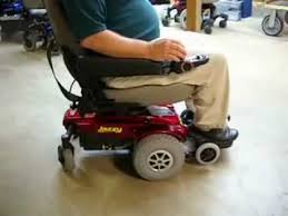 jazzy select power chair pride mobility youtube