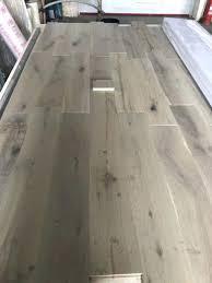 Grey Brushed Rustic Grade Oak Hardwood Flooring Westco Laminate